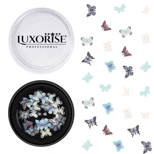 Poze Decoratiuni Unghii Nail Art Butterfly View, LUXORISE