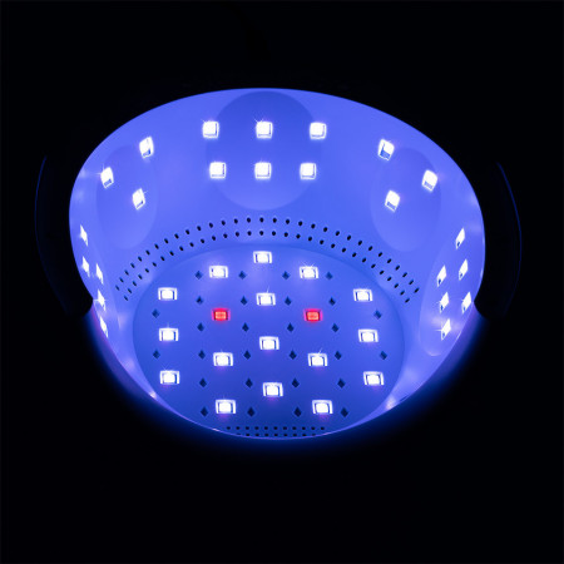 Poze Lampa Unghii UV Trio Fusion PRO LUXORISE 72W Anti-Aging, Alb