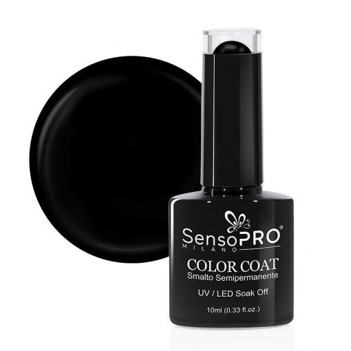 Poze Oja Semipermanenta SensoPRO Milano 002 Black Onyx, 10ml