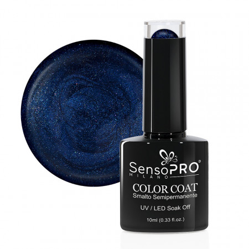 Poze Oja Semipermanenta SensoPRO Milano 035 Navy Blue, 10ml