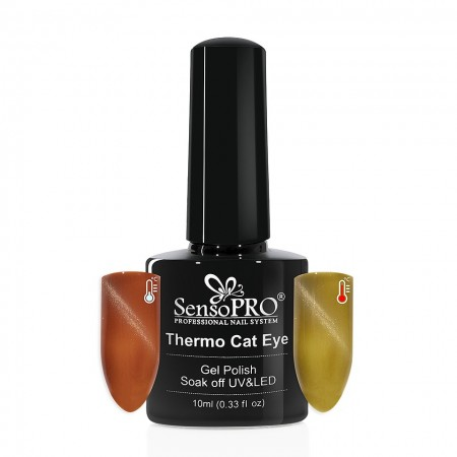 Poze Oja Semipermanenta SensoPRO Thermo Cat Eye #16, 10 ml