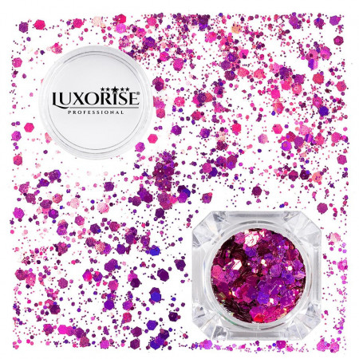 Poze Paiete Unghii LUXORISE #15 Disco Lights
