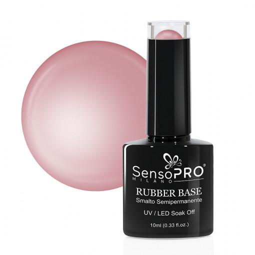 Poze Rubber Base Gel SensoPRO Milano 10ml, Sweet Nude 05