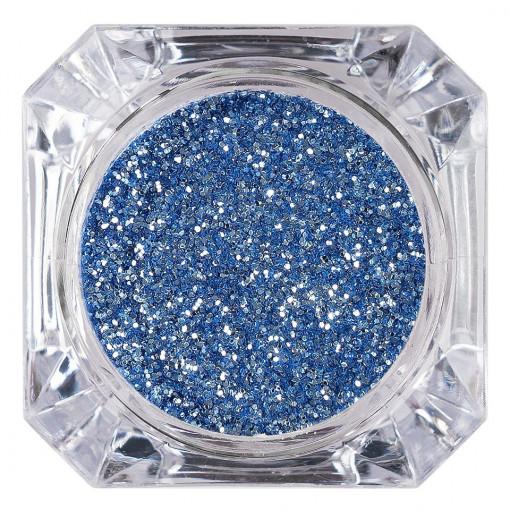 Poze Sclipici Glitter Unghii Pulbere Azure #13, LUXORISE