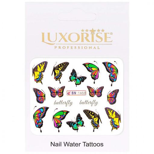 Poze Tatuaj Unghii Butterfly BN-1650, LUXORISE