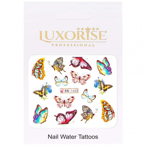 Poze Tatuaj Unghii Butterfly BN-1655, LUXORISE