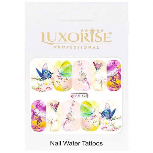 Poze Tatuaj Unghii Butterfly BN-698, LUXORISE