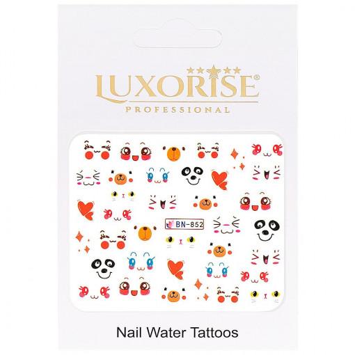 Poze Tatuaj unghii Emotions BN-852, LUXORISE