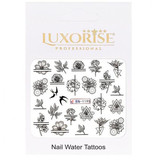 Poze Tatuaj unghii Fantasy BN-1195, LUXORISE