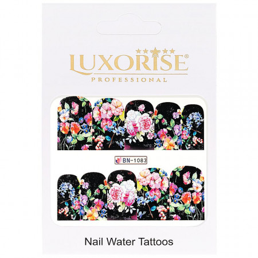 Poze Tatuaj unghii Nature BN-1083, LUXORISE