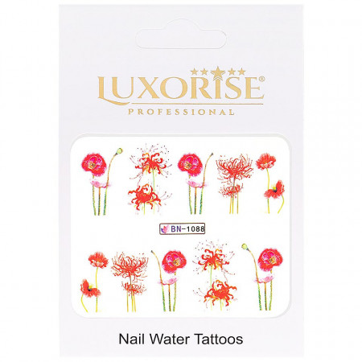 Poze Tatuaj unghii Nature BN-1088, LUXORISE