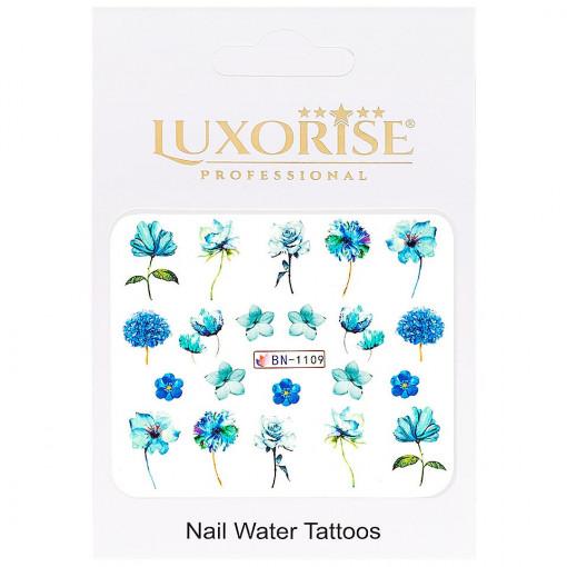 Poze Tatuaj unghii Nature BN-1109, LUXORISE