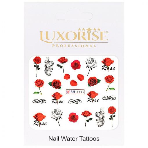 Poze Tatuaj unghii Nature BN-1112, LUXORISE