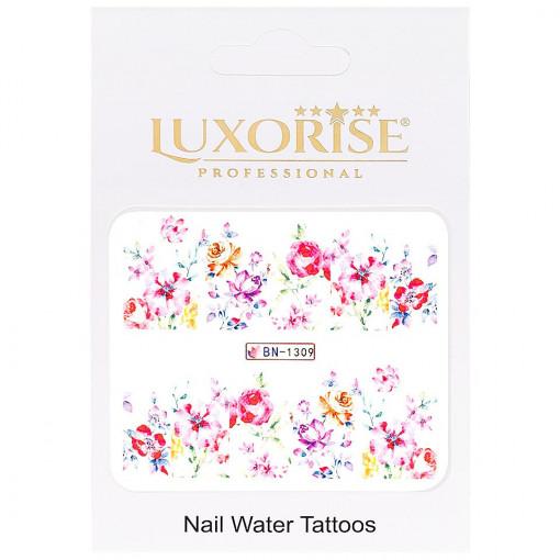 Poze Tatuaj unghii Nature BN-1309, LUXORISE