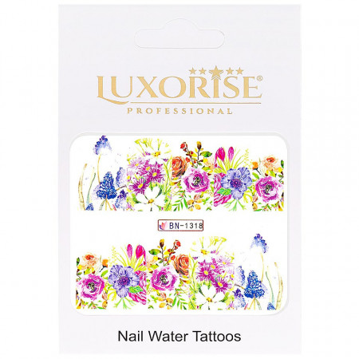 Poze Tatuaj unghii Nature BN-1318, LUXORISE