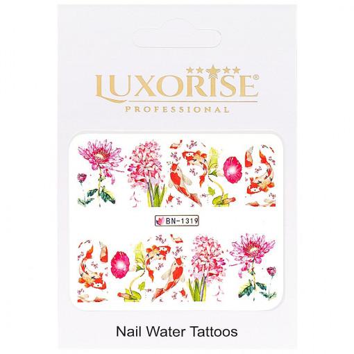 Poze Tatuaj Unghii Nature BN-1319, LUXORISE
