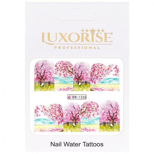 Poze Tatuaj Unghii Nature BN-1326, LUXORISE