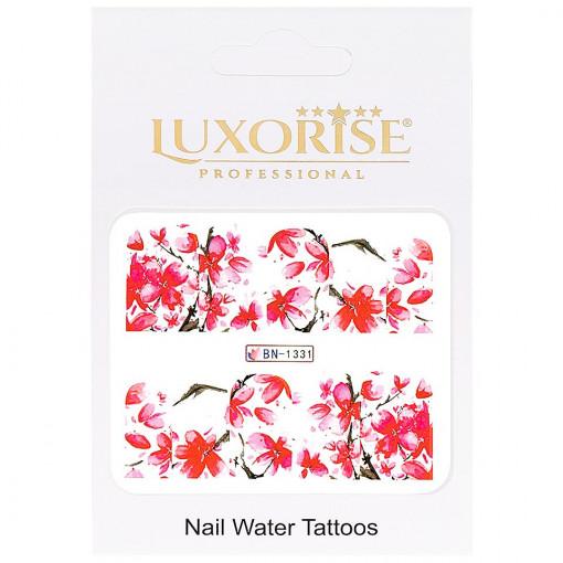 Poze Tatuaj Unghii Nature BN-1331, LUXORISE
