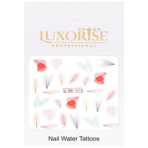 Poze Tatuaj Unghii Nature BN-1415, LUXORISE