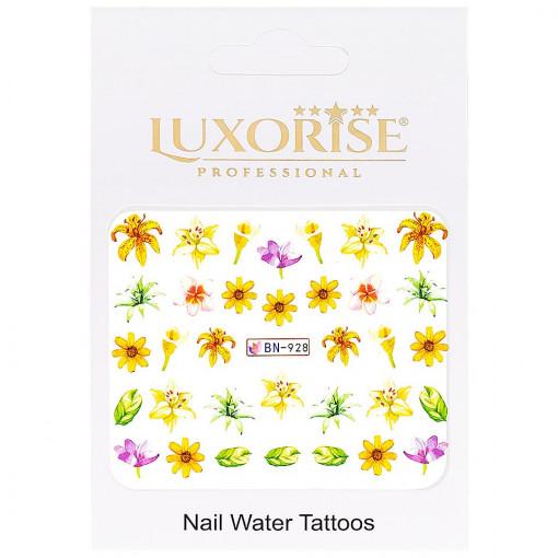Poze Tatuaj unghii Nature BN-928, LUXORISE
