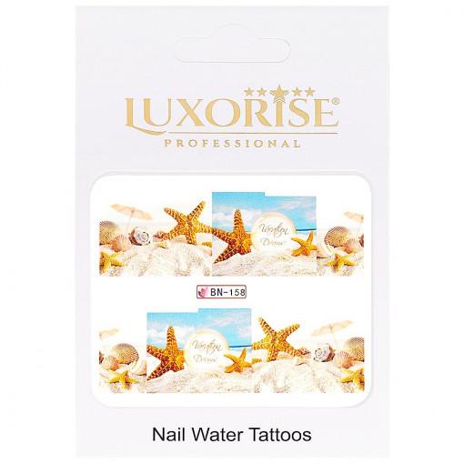 Poze Tatuaj Unghii Tropical BN-158, LUXORISE