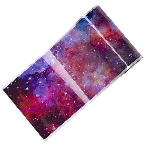 Poze Folie Transfer Unghii LUXORISE Galaxy #375