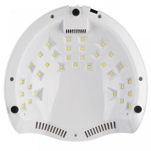 Poze Lampa UV LED manichiura LUXORISE cu Acumulator, Double Light LED, Rosu