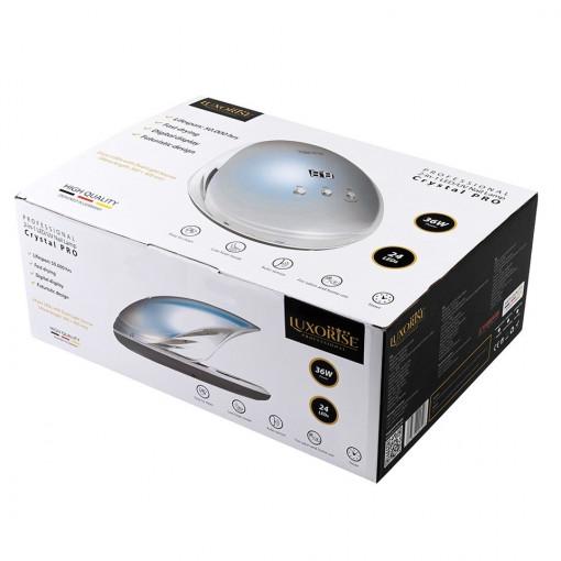 Poze Lampa UV LED Unghii LUXORISE PerfectCare PRO 36W, Argintiu