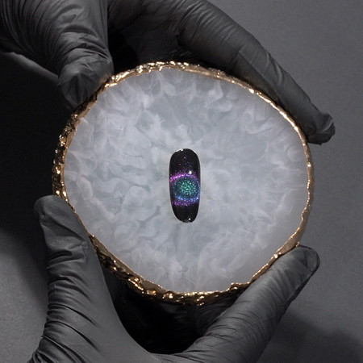 Poze Oja Semipermanenta Cat Eye 5D SensoPRO Milky Way #05, 10ml