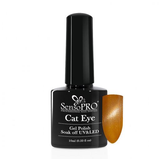 Poze Oja Semipermanenta SensoPRO Cat Eye Reno Sand #019, 10ml