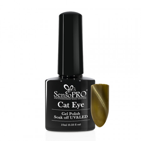 Poze Oja Semipermanenta SensoPRO Cat Eye Seafoam #006, 10ml