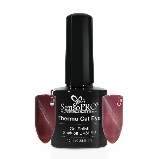 Poze Oja Semipermanenta SensoPRO Thermo Cat Eye #07, 10 ml