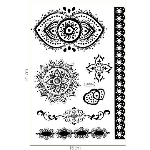 Poze Tatuaj Temporar LUXORISE From India J006