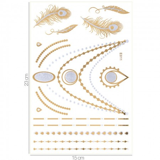 Poze Tatuaj Temporar LUXORISE Gold Edition E011