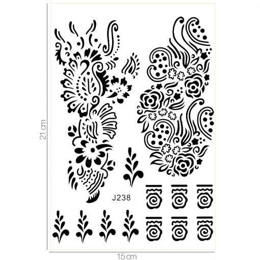 Poze Tatuaj Temporar LUXORISE Seaweed J238