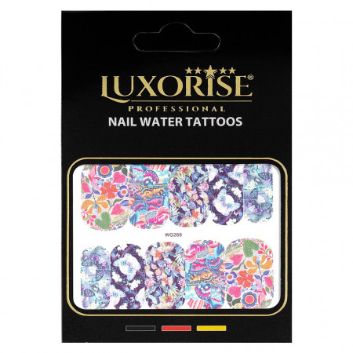 Poze Tatuaj unghii Butterfly WG269, LUXORISE