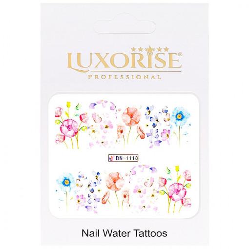 Poze Tatuaj Unghii Nature BN-1118, LUXORISE