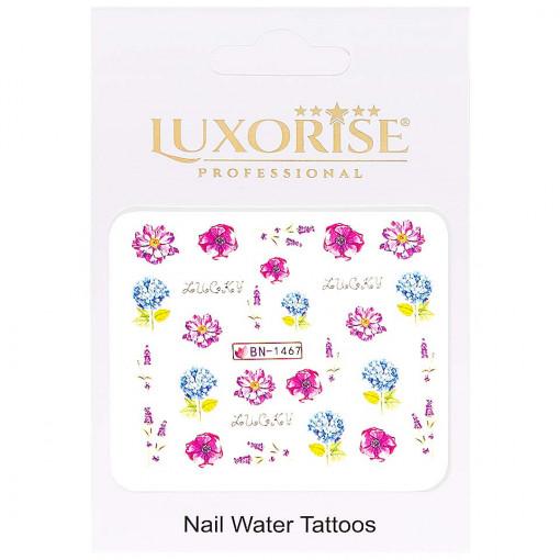 Poze Tatuaj Unghii Nature BN-1467, LUXORISE