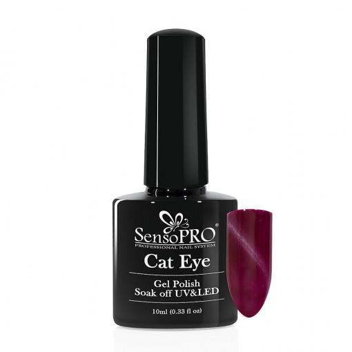 Poze Oja Semipermanenta SensoPRO Cat Eye StarBurst #012, 10ml