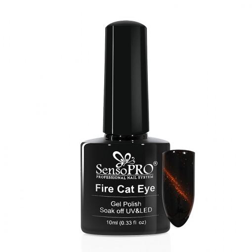 Poze Oja Semipermanenta SensoPRO Fire Cat Eye #12, 10 ml