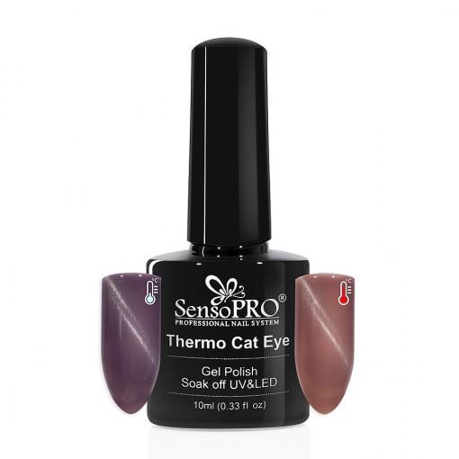 Poze Oja Semipermanenta SensoPRO Thermo Cat Eye #08, 10 ml