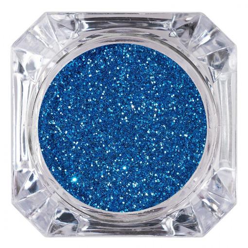 Poze Sclipici Glitter Unghii Pulbere Albastru #14, LUXORISE