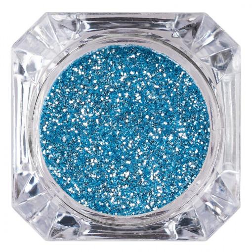 Poze Sclipici Glitter Unghii Pulbere Aqua #46, LUXORISE