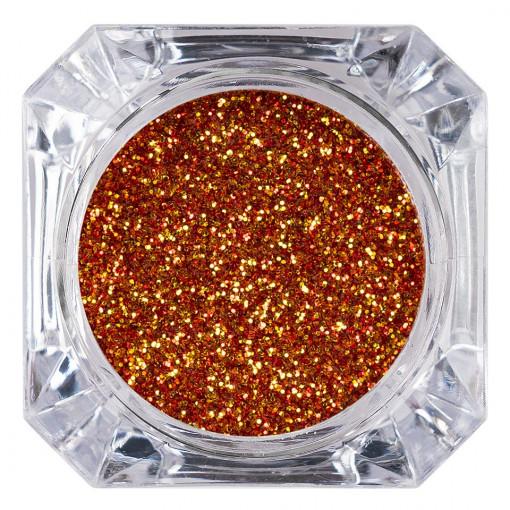 Poze Sclipici Glitter Unghii Pulbere Terracota #56, LUXORISE