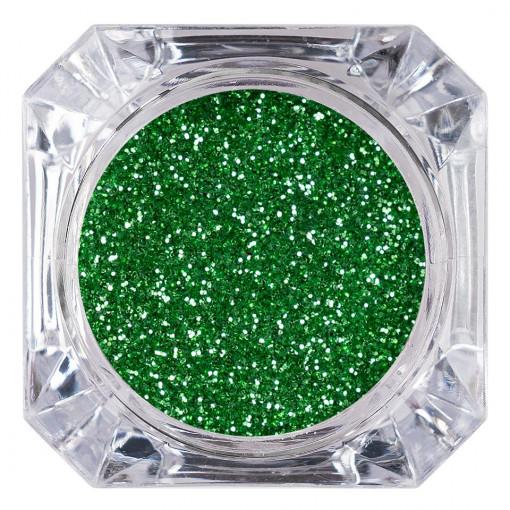 Poze Sclipici Glitter Unghii Pulbere Verde #36, LUXORISE