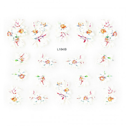 Poze Sticker 3D Unghii Artistry L104B, LUXORISE