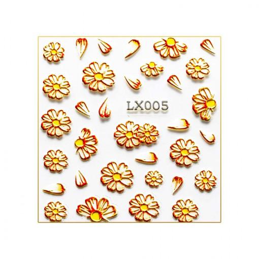 Poze Tatuaj 3D Unghii LUXORISE LX005- Artistry
