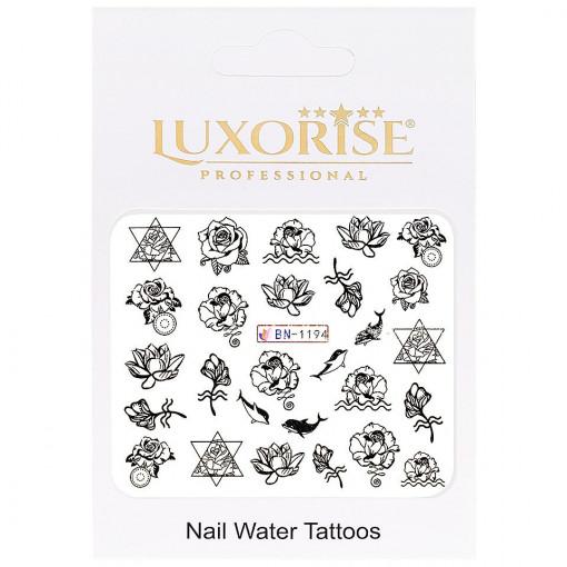 Poze Tatuaj unghii Fantasy BN-1194, LUXORISE