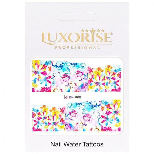 Poze Tatuaj unghii Nature BN-008, LUXORISE