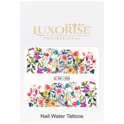Poze Tatuaj unghii Nature BN-1084, LUXORISE